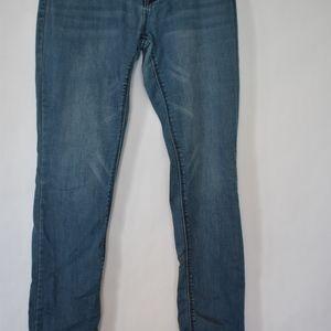 Express Jeans - Express Straight-leg Jeans medium wash A3